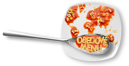 obedove menu
